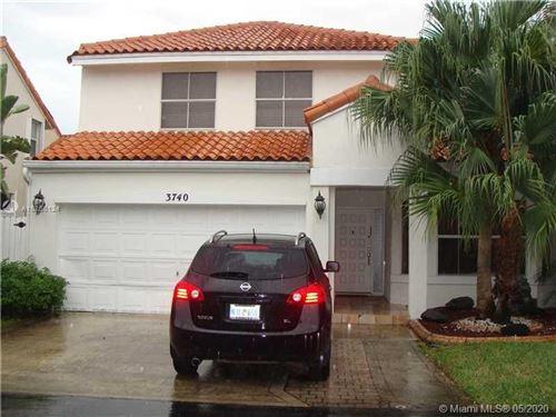 Photo of 3740 Kensington St, Hollywood, FL 33021 (MLS # A10866124)