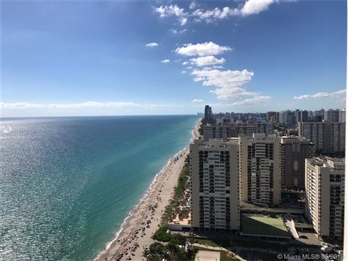 Photo of 1830 S Ocean Dr #3202, Hallandale, FL 33009 (MLS # A10618179)