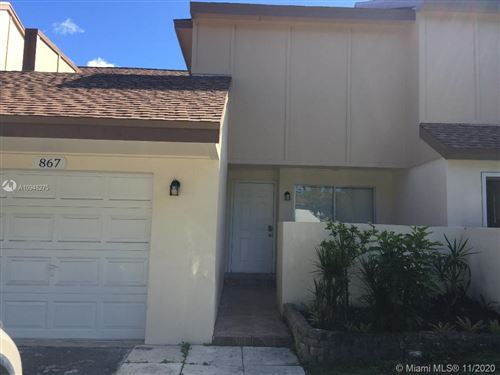 Photo of 867 NW 80th Ter #5, Plantation, FL 33324 (MLS # A10948275)