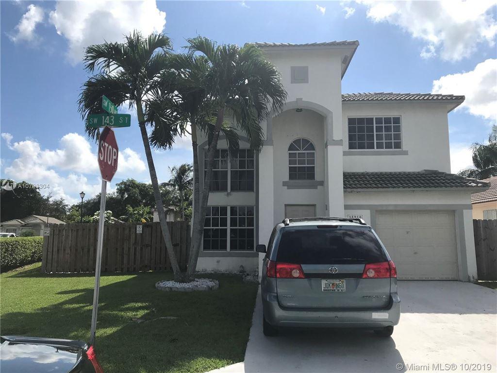 15010 SW 143rd St, Miami, FL 33196 - MLS#: A10763304