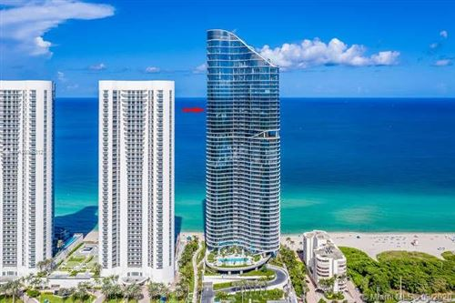 Photo of 15701 Collins Ave #3701, Sunny Isles Beach, FL 33160 (MLS # A10865312)