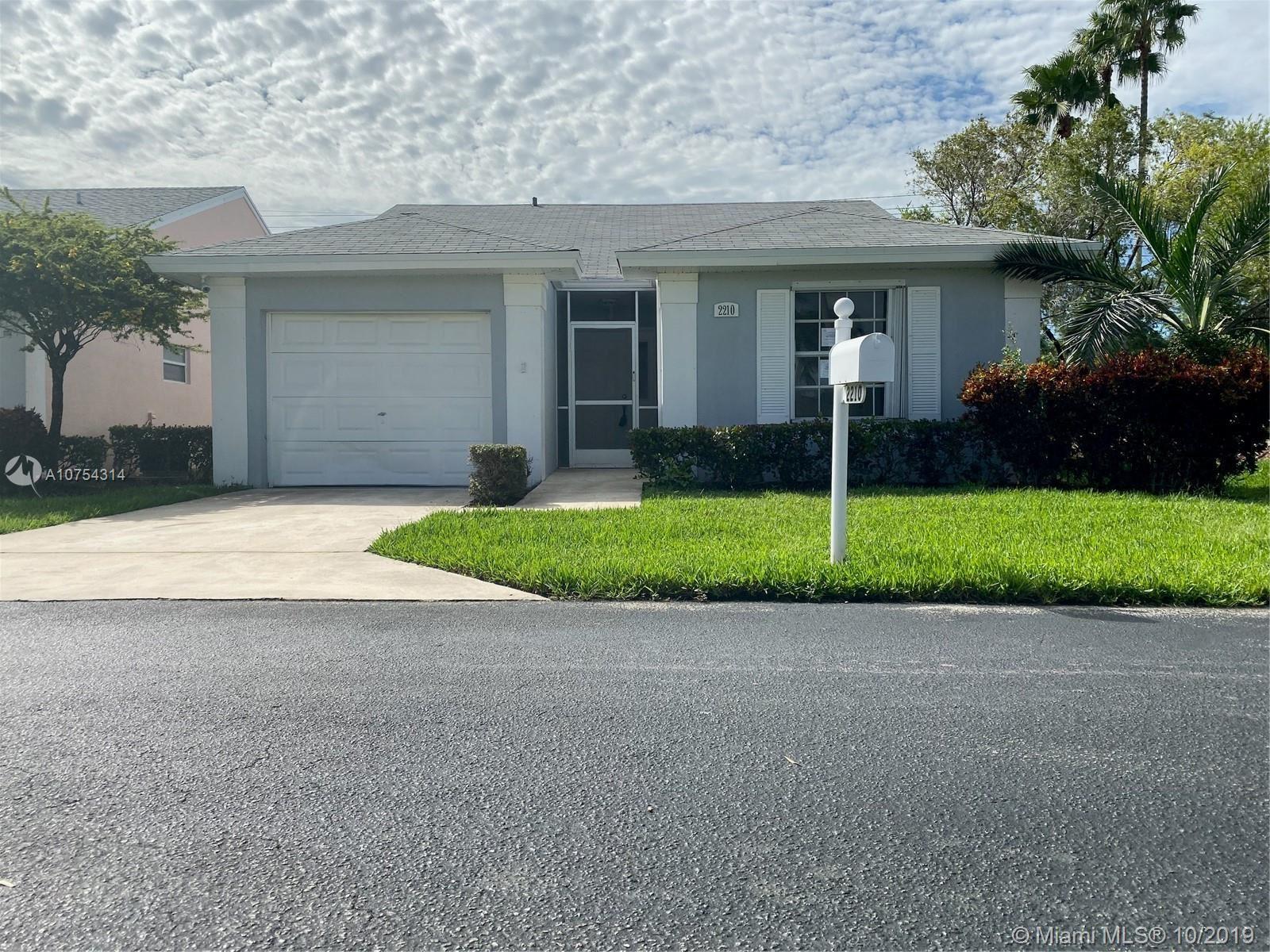 2210 SE 7th Pl, Homestead, FL 33033 - MLS#: A10754314