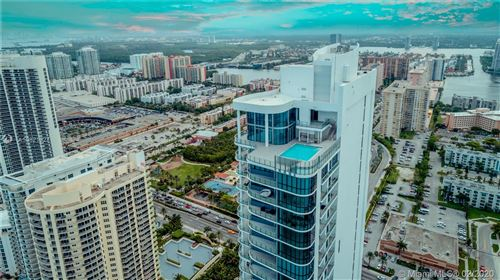Photo of 17475 Collins Ave #PH-3201, Sunny Isles Beach, FL 33160 (MLS # A10821327)