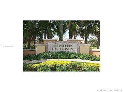 Photo of 4953 Tradewinds Ter #706, Dania Beach, FL 33312 (MLS # A10686333)