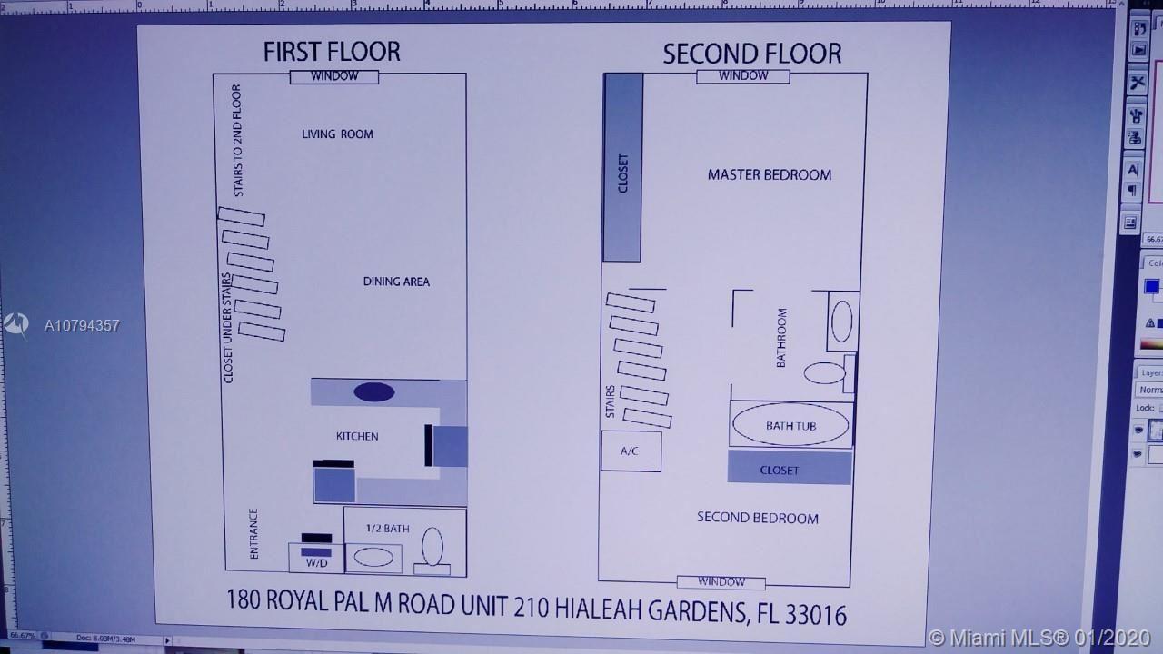 180 Royal Palm Rd #210, Hialeah Gardens, FL 33016 - MLS#: A10794357