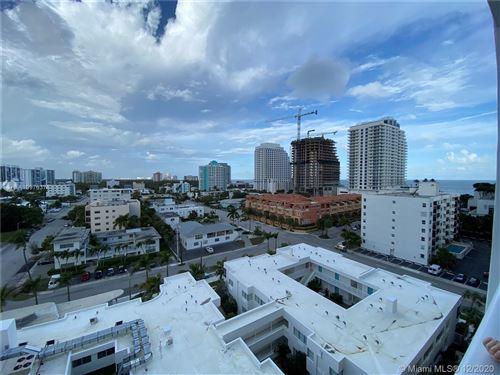 Photo of 401 N Birch Rd #911, Fort Lauderdale, FL 33304 (MLS # A10976376)