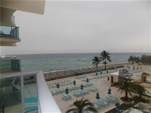 Photo of 2501 S Ocean Dr #412, Hollywood, FL 33019 (MLS # A10773395)