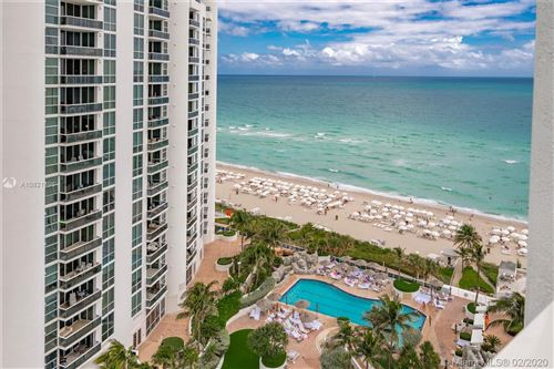 Photo of 18001 Collins Ave #1205, Sunny Isles Beach, FL 33160 (MLS # A10821396)