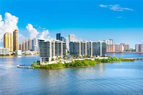 Photo of 5500 Island Estates Dr #505, Aventura, FL 33160 (MLS # A10837412)