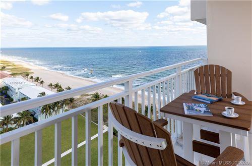Photo of 5200 N Ocean Blvd #1504E, Lauderdale By The Sea, FL 33308 (MLS # A10967412)