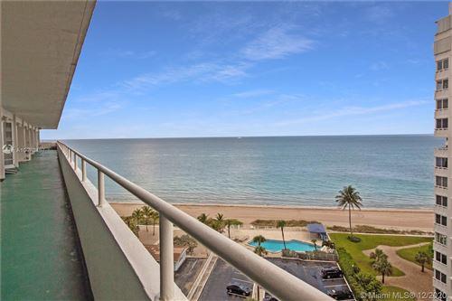 Photo of 4050 N Ocean Dr #1103, Lauderdale By The Sea, FL 33308 (MLS # A10970457)