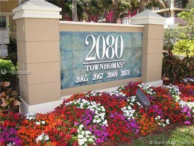 Photo of 2069 S Ocean Dr #TH10, Hallandale, FL 33009 (MLS # A10769488)