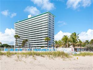 Photo of 4050 N OCEAN #1009, Lauderdale By The Sea, FL 33308 (MLS # A10746508)