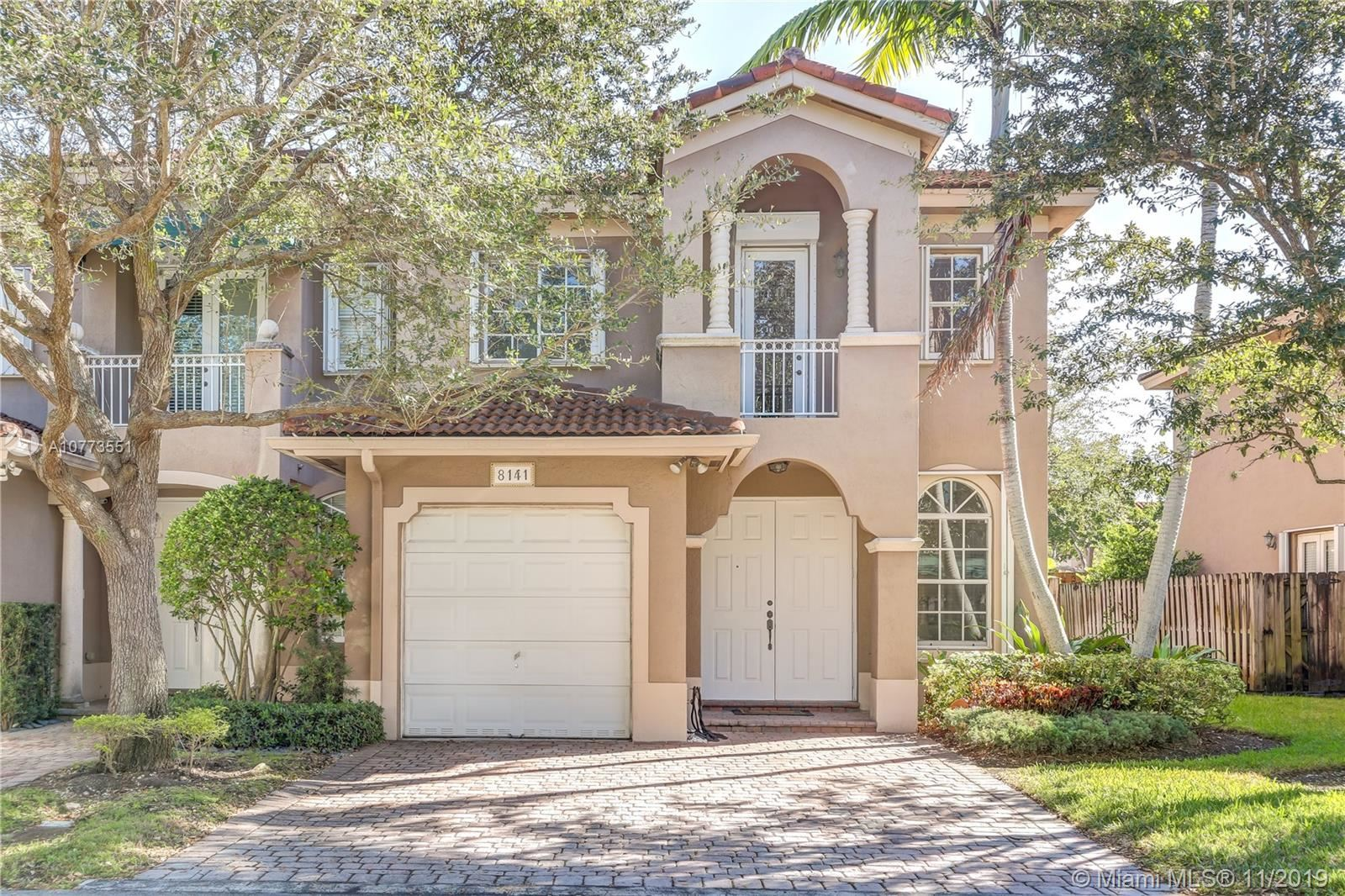 8141 SW 118th Ct #8141, Miami, FL 33183 - MLS#: A10773551