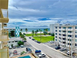 Photo of 1801 S Ocean Dr #605, Hollywood, FL 33019 (MLS # A10710554)