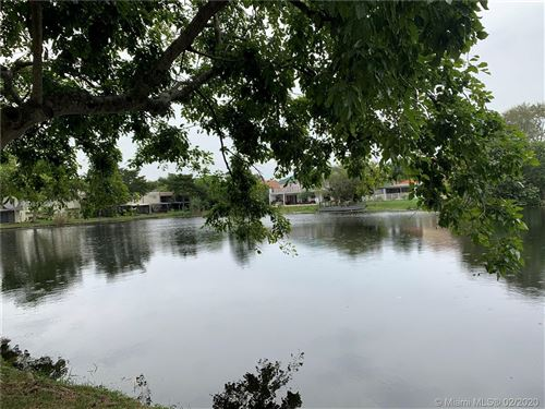 Photo of 154 Wimbledon Lake Dr #154, Plantation, FL 33324 (MLS # A10811557)