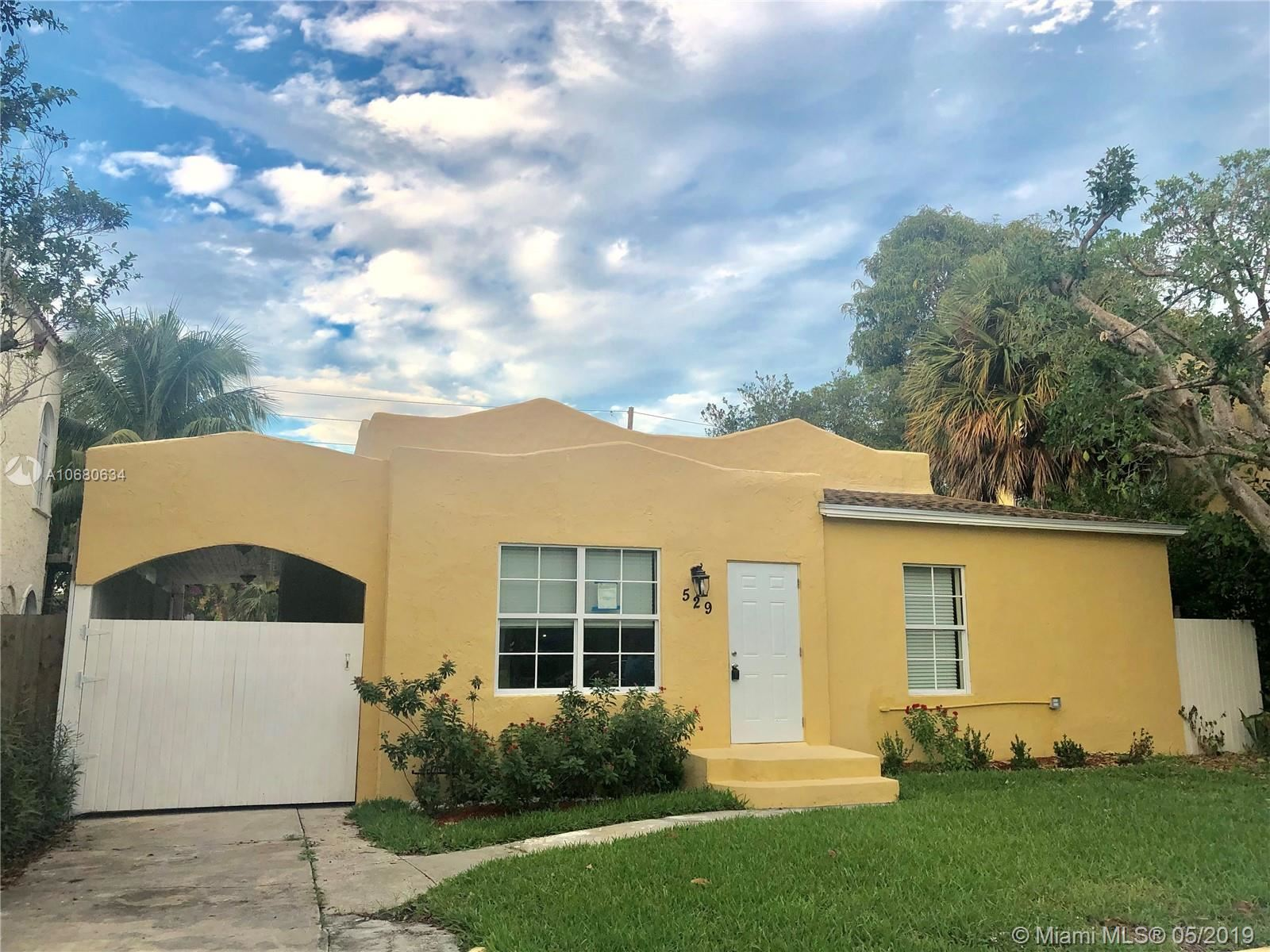 529 39th St, West Palm Beach, FL 33407 - MLS#: A10680634