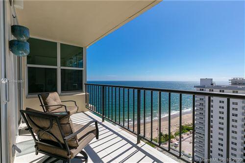 Photo of 4280 E Galt Ocean Dr #18L, Fort Lauderdale, FL 33308 (MLS # A10948651)