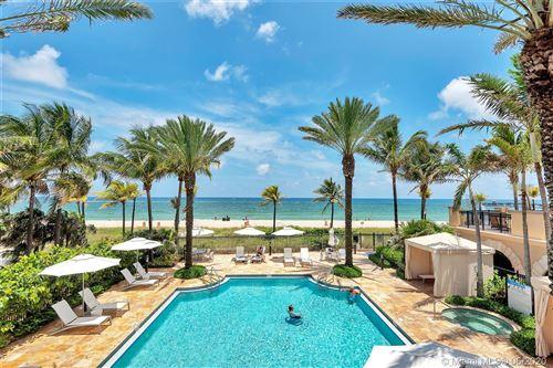 Photo of 4511 El Mar Dr #PH 401, Lauderdale By The Sea, FL 33308 (MLS # A10881673)