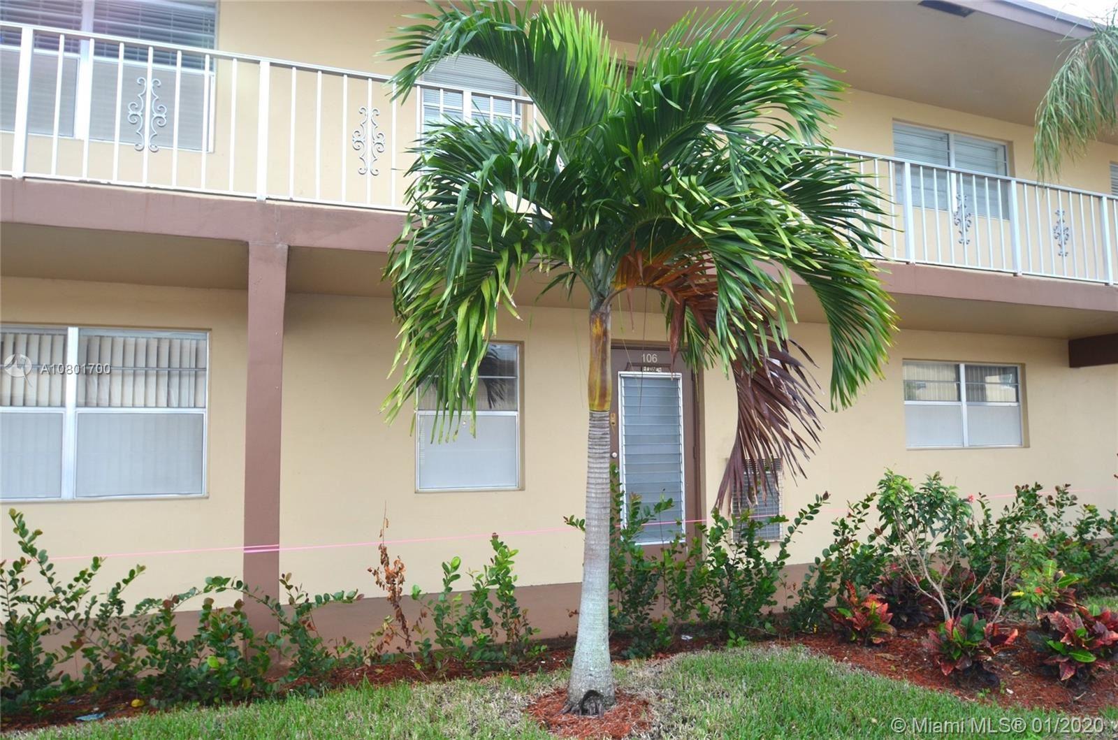 7200 NW 5th Pl #106, Margate, FL 33063 - MLS#: A10801700