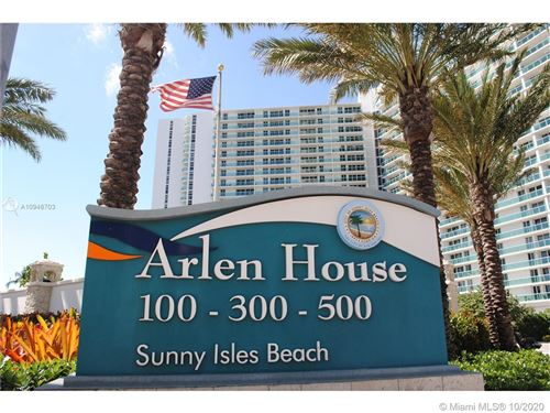 Photo of 100 Bayview Dr #209, Sunny Isles Beach, FL 33160 (MLS # A10948703)