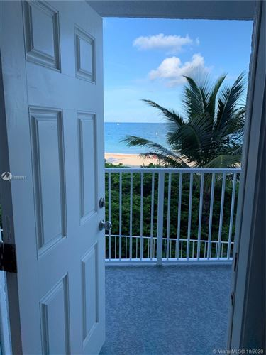 Photo of 1480 South Ocean Boulevard #218, Lauderdale By The Sea, FL 33062 (MLS # A10935711)