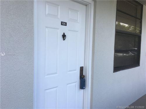 Photo of 1719 Whitehall Drive #105, Davie, FL 33324 (MLS # A10900720)