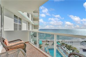 Photo of 3725 S Ocean Dr #910, Hollywood, FL 33019 (MLS # A10772737)