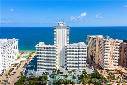 Photo of 3900 Galt Ocean Dr #506, Fort Lauderdale, FL 33308 (MLS # A10946764)