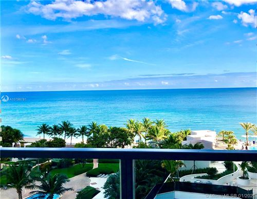 Photo of 3101 S Ocean Dr #801, Hollywood, FL 33019 (MLS # A10796781)