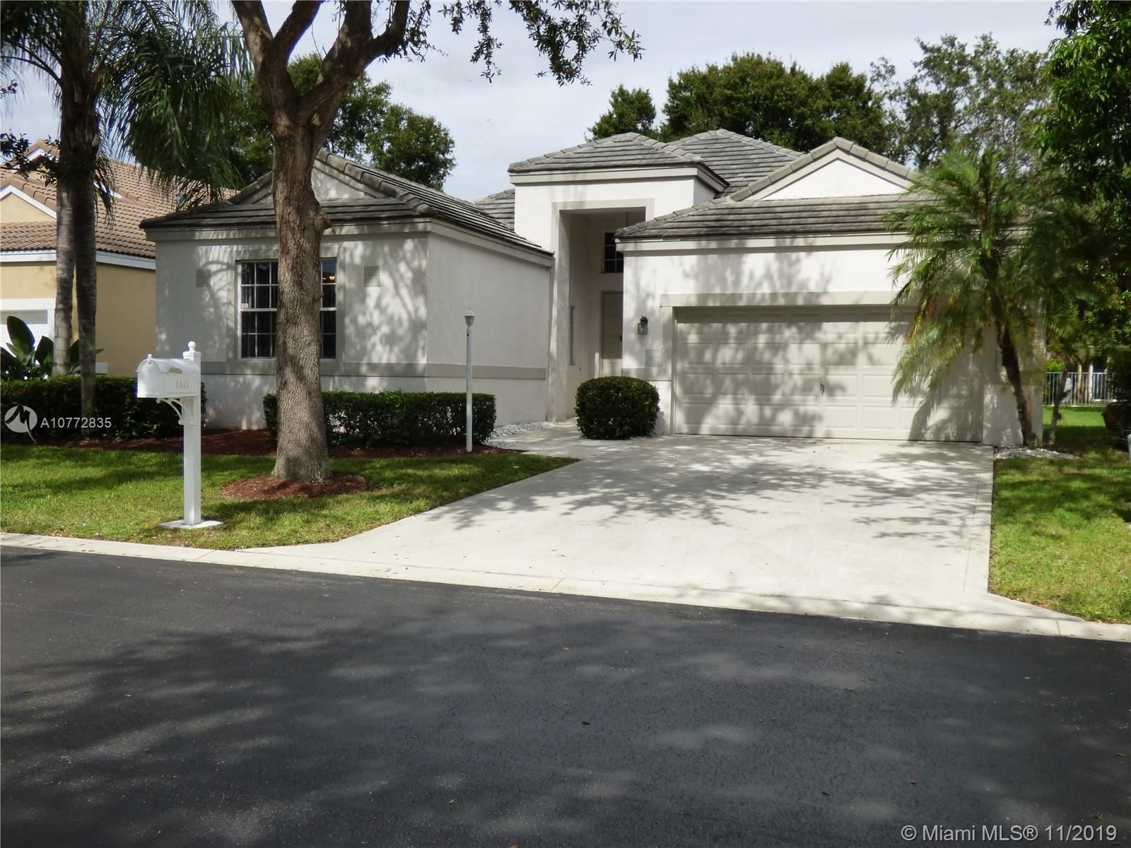6443 NW 78th Dr, Parkland, FL 33067 - MLS#: A10772835
