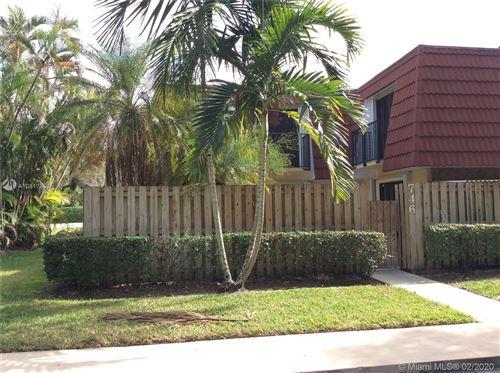Photo of 746 NW 98th Way #746, Plantation, FL 33324 (MLS # A10817859)