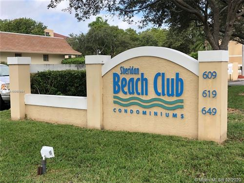 Photo of 609 E Sheridan St #308, Dania Beach, FL 33004 (MLS # A10967881)