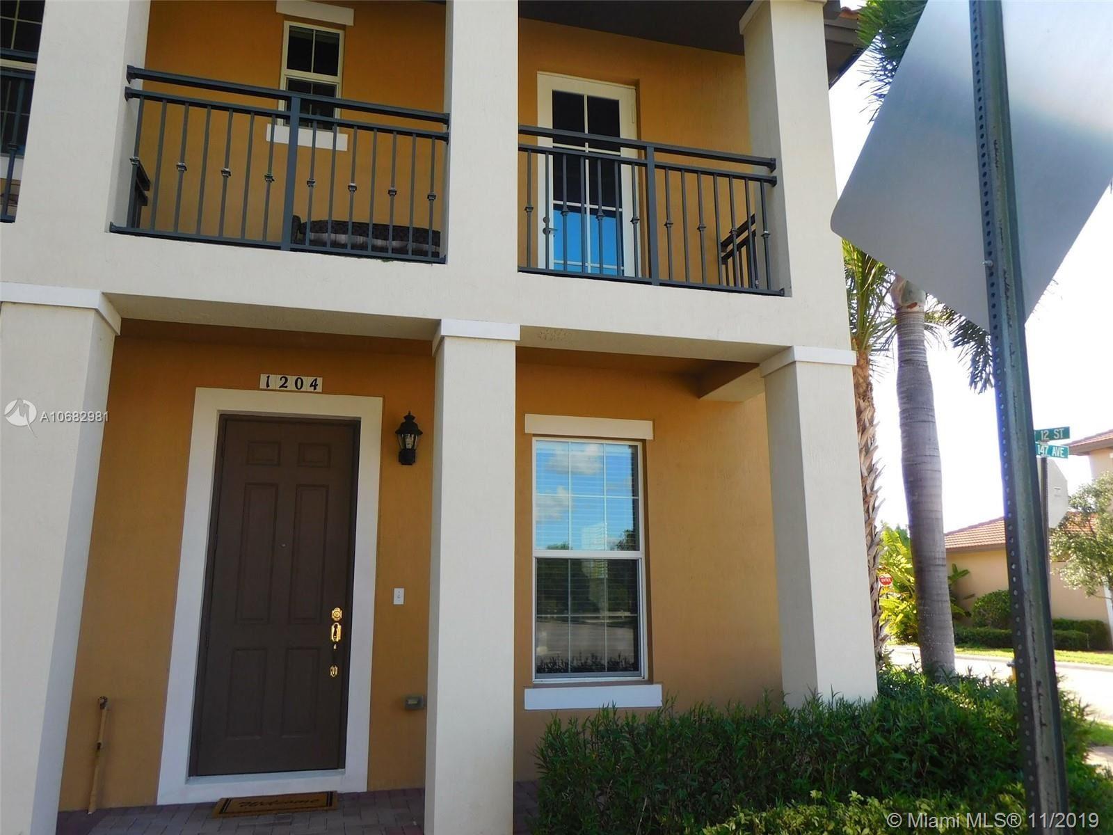 1204 SW 147th Ave #1204, Pembroke Pines, FL 33027 - MLS#: A10682981