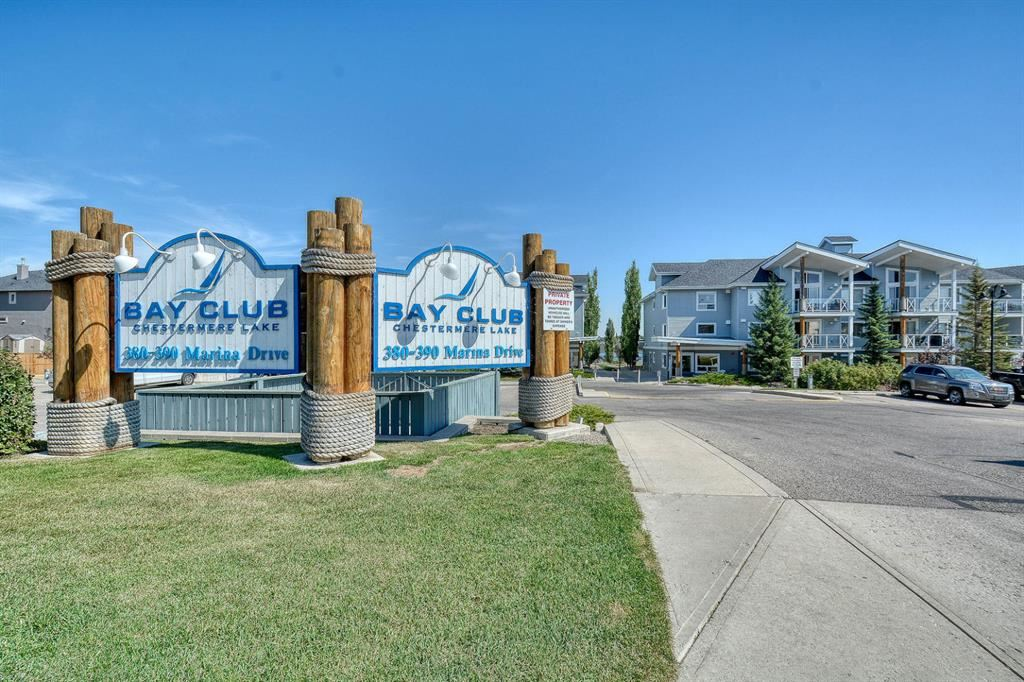 Photo of 380 Marina Drive #107, Chestermere, AB T1X 0B8 (MLS # A1028134)