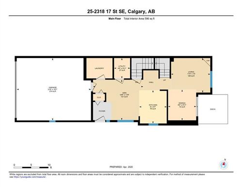 Tiny photo for #25 2318 17 ST SE, Calgary, AB T2G 5R5 (MLS # C4297154)