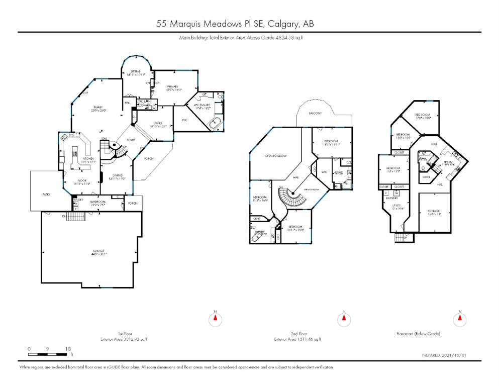 Photo of 55 Marquis Meadows Place SE, Calgary, AB T3S 0A6 (MLS # A1150415)