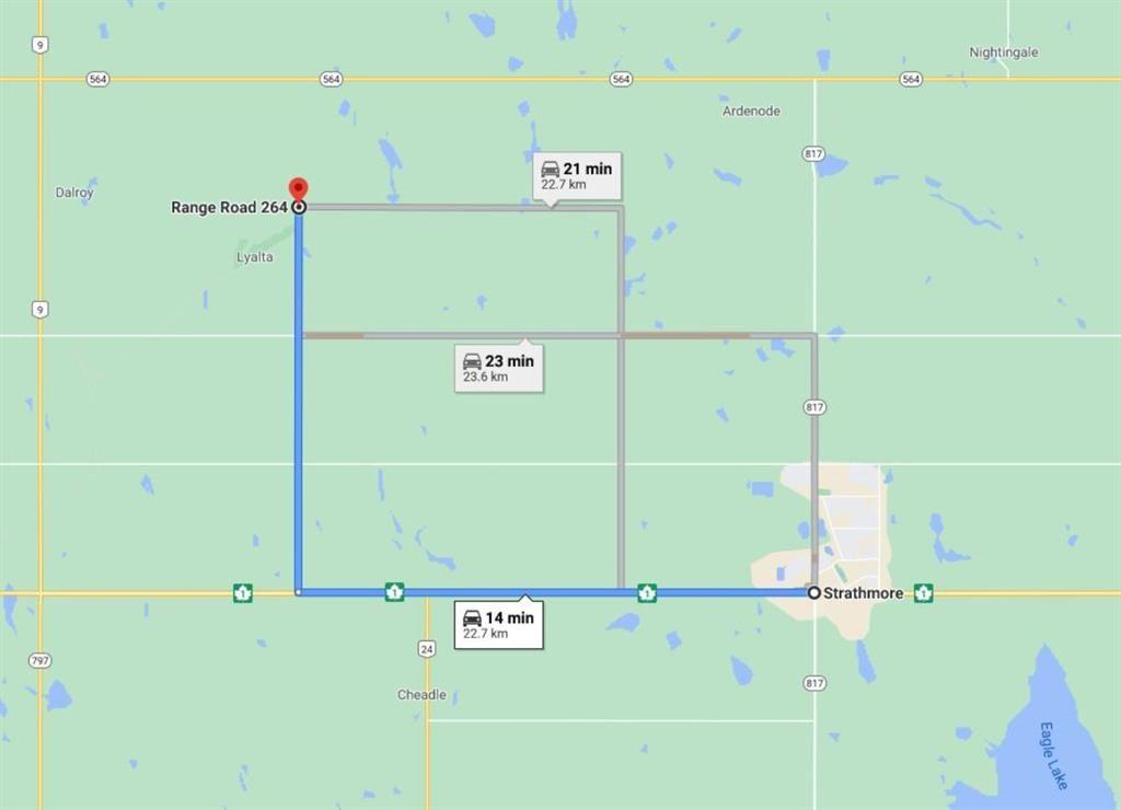 Photo of W4R26T25S16:5,6 Range Road 264, Wheatland County, AB T0J 0Y0 (MLS # A1050428)