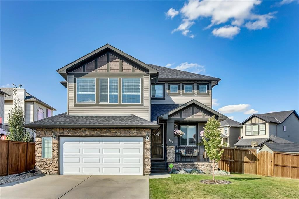 Photo of 101 RAINBOW FALLS LN, Chestermere, AB T1X 0N6 (MLS # C4276488)