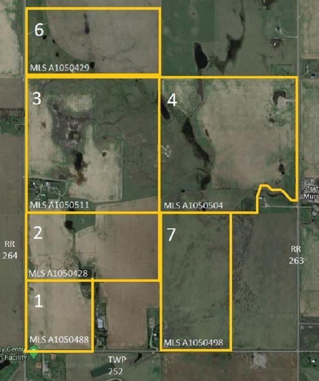 Photo of W4R26T25S16QNE Range Road 264 Range, Wheatland County, AB T0J 0Y0 (MLS # A1050504)