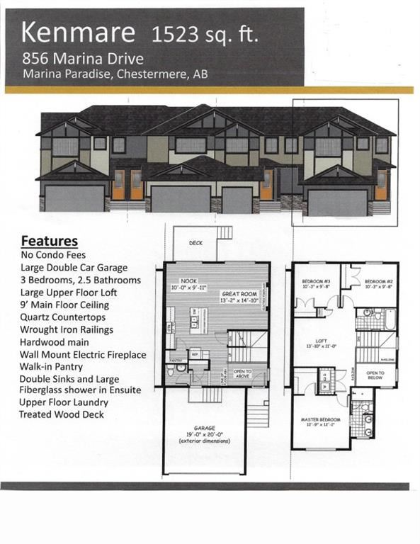 Photo of 836 Marina Drive, Chestermere, AB T1X 1Y6 (MLS # A1065589)