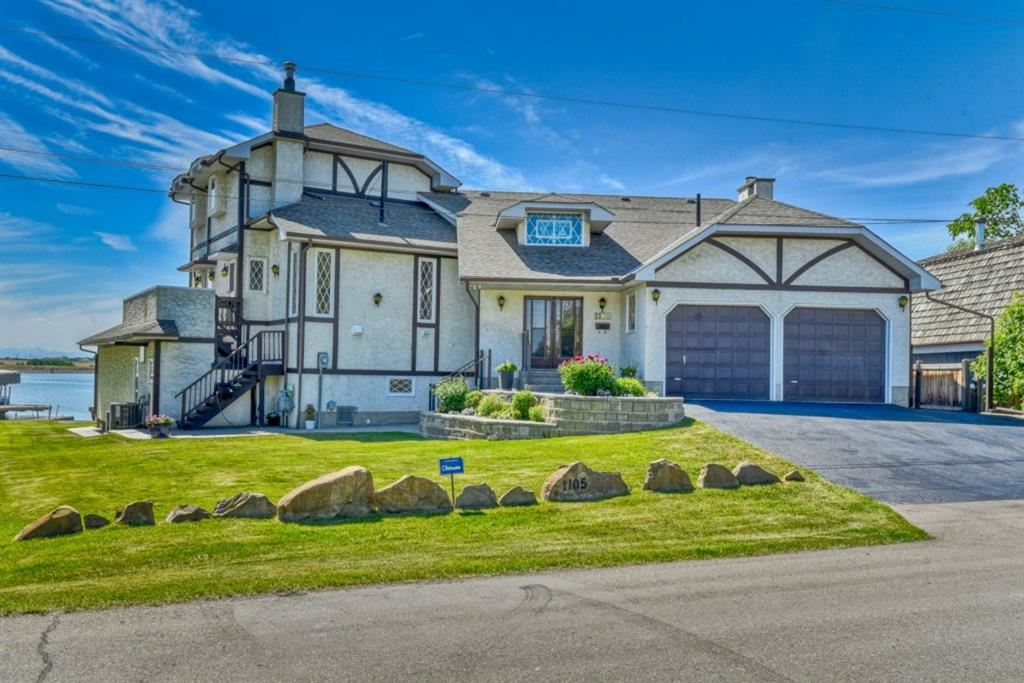 Photo of 1105 East Chestermere Drive, Chestermere, AB T1X 1A9 (MLS # A1122615)