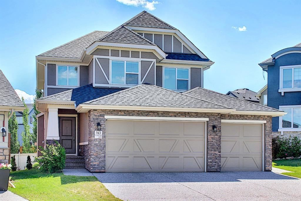 Photo of 143 STONEMERE Green, Chestermere, AB T1X 0S2 (MLS # A1123634)