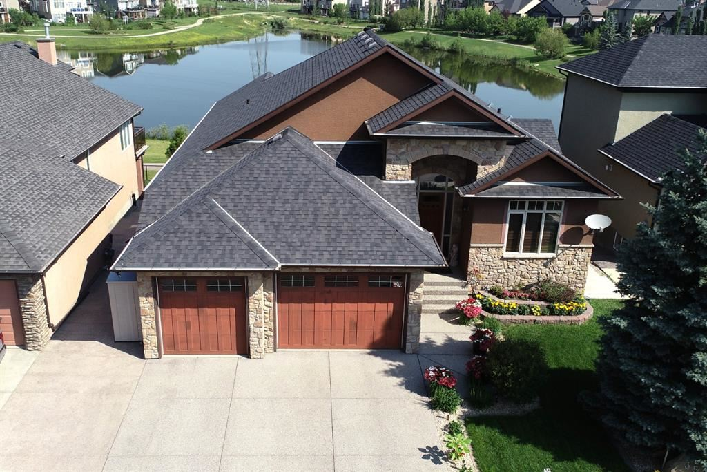Photo of 353 RAINBOW FALLS Way, Chestermere, AB T1X 1W5 (MLS # A1122642)