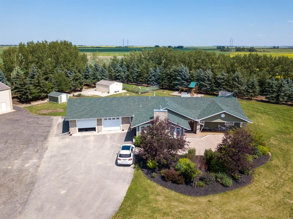 Photo of 245118 Range Road 283, Rocky View County, AB T2M 4L5 (MLS # A1134710)