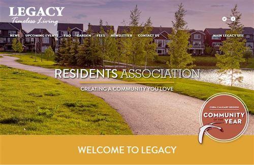 Tiny photo for 81 Legacy Boulevard SE #3308, Calgary, AB T2X 2B9 (MLS # A1130735)