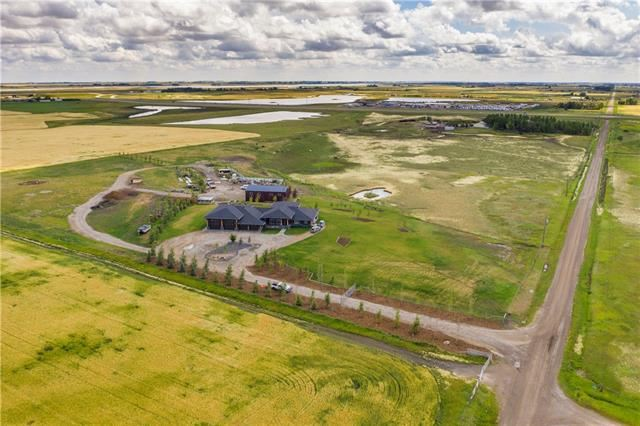 Photo of 242122 VALE VIEW RD, Rural Rocky View County, AB T2M 4L5 (MLS # C4264850)