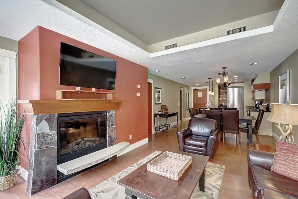 Photo of 173 Kananaskis Way #A122, Canmore, AB T1W 0A3 (MLS # A1047992)