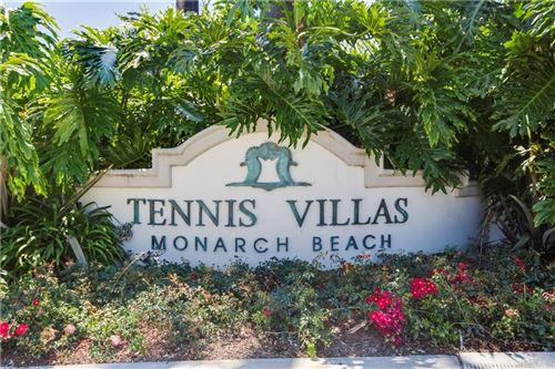 Tiny photo for 106 Tennis Villas Drive, Dana Point, CA 92629 (MLS # OC21126014)