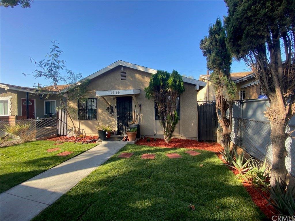 1419 W 58th Place, Los Angeles, CA 90047 - MLS#: DW21217018